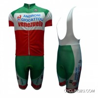 Best 2013 Androni Giocattoli Cycling Short Sleeve Jersey + Bib Shorts Kit Tj-568-7319