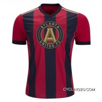 Super Deals Mls Atlanta United Fc Short Sleeve Cycling Jersey Bike Clothing Cycle Apparel Tj-584-9029