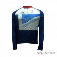 Best Olympic 2012 Team Gb Cycling Long Sleeve Jersey Tj-961-0105