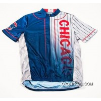 Latest MLB Chicago Cubs Cycling Jersey Short Sleeve TJ-181-2394