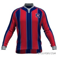 Mls Chicago Fire Long Sleeve Cycling Jersey Bike Clothing Cycle Apparel Shirt Outfit Ropa Ciclismo Tj-456-7683 Online