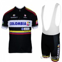 Top Deals COLOMBIA 2013 Professional Cycling Team - Cycling Strap Trousers Kit TJ-653-5934