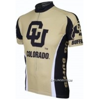 CU University Of Colorado Buffaloes Cycling Jersey TJ-700-4441 Outlet