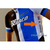 Custom Blanco Cycling Jersey With Your Name And National Flag Tj-895-6124 Latest