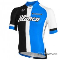 2013 Blanco Giant Pro Cycling Team Short Sleeve Cycle Jersey TJ-153-6007 New Style