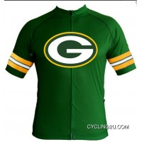 ac4294653 NFL Green Bay Packers Cycling Jersey Short Sleeve TJ-909-3532 Super Deals