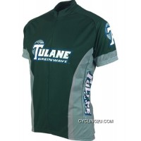 Discount Tulane University Cycling Jersey TJ-092-3812