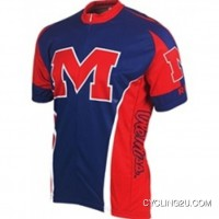 Ole Miss University Of Mississippi Rebels Cycling Short Sleeve Jersey Tj-792-9364 Free Shipping