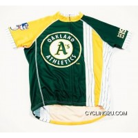 New Style MLB Oakland Athletics Cycling Jersey Bike Clothing Cycle Apparel Shirt Ciclismo TJ-996-4322