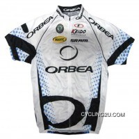 2011 Orbea White Cycling Short Sleeve Jersey Tj-557-0237 Outlet