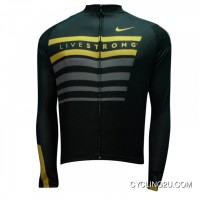 Latest 2013 Livestrong Long Sleeve Jersey