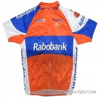 2011 Team Rabo Bank Cycling Short Sleeve Jersey Ride For The Roses Tj-484-9286 Free Shipping