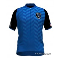 MLS San Jose Earthquakes Short Sleeve Cycling Jersey Bike Clothing Cycle Apparel TJ-032-7676 Latest