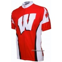 University Of Wisconsin-Madison Badgers Cycling Short Sleeve Jersey Tj-444-3282 Best