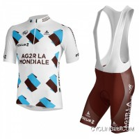 2013 Ag2R La Mondiale Cycle Jersey + Bib Shorts Kit Tj-579-5023 Super Deals