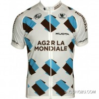 Ag2R La Mondiale 2011 Vermarc Radsport-Profi-Team Short Sleeve Cycling Jersey Tj-550-1004 Discount