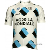 Free Shipping Ag2R Tour 2009 Biemme Radsport-Profi-Team Short Sleeve Cycling Jersey Tj-909-5045