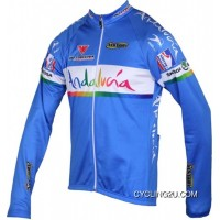Andalucia 2012 Inverse Radsport-Profi-Team Winter Long Sleeve Jersey Jacket Tj-653-7483 Discount