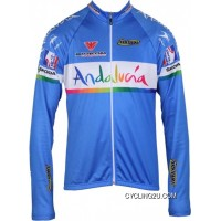 New Release Andalucia 2012 Inverse Radsport-Profi-Team Long Sleeve Jersey Tj-586-3721