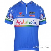 Free Shipping ANDALUCIA 2012 Inverse Radsport-Profi-Team Short Sleeve Cycling Jersey TJ-553-6710
