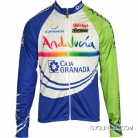 New Style Andalucia 2011 Inverse Radsport-Profi-Team Winter Long Sleeve Jersey Jacket Tj-226-1145