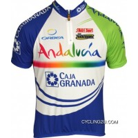 Andalucia 2011 Inverse Radsport-Profi-Team Short Sleeve Cycling Jersey Tj-652-7022 Outlet