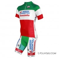 Outlet Androni Giocattoli National Champion Italy 2012-2013 Cycle Jersey + Shorts Kit Tj-230-8372