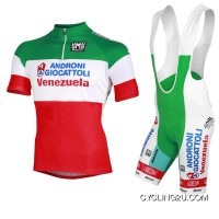 2013 Androni Giocattoli National Champion Italy Cycle Jersey + Bib Shorts Kit Tj-839-9201 New Release