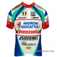 Outlet Androni Giocattoli - Venezuela 2013 Professional Short Sleeve Cycling Jersey Tj-574-1294