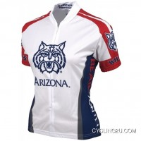 Free Shipping U Of A, Ua University Of Arizona Wildcats Women'S Cycling Jersey Tj-852-3582