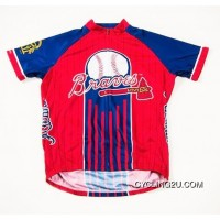 New Style Mlb Atlanta Braves Cycling Jersey Bike Clothing Cycle Apparel Shirt Ciclismo Tj-832-9618