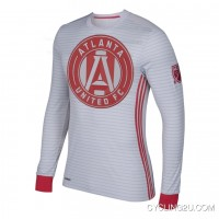 Mls Atlanta United Fc Long Sleeve Cycling Jersey Bike Clothing Cycle Apparel Shirt Outfit Ropa Ciclismo Tj-610-3411 Best