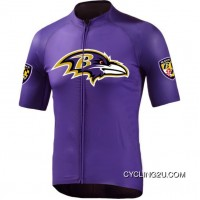 Nfl Baltimore Ravens Cycling Jersey Short Sleeve Tj-672-8297 New Year Deals