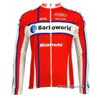 Barloworld 2009 Nalini Radsport-Profi-Team Winter Fleece Long Sleeve Jersey Jacket Tj-549-0691 Online