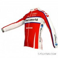 Online Barloworld 2009 Nalini Radsport-Profi-Team - Radsport-long Sleeve Jersey TJ-688-3611
