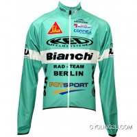 Discount Berlin 2010 Radsport-Profi-Team -Winter Fleece Long Sleeve Jersey Tj-303-0805