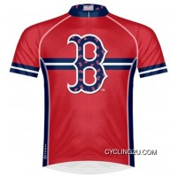 Best MLB Boston Red Sox Cycling Jersey Short Sleeve TJ-315-4436