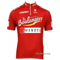 Brioches La Boulangere 2003 Short Sleeve Jersey -Radsport-Profi-Team Tj-481-7439 Super Deals