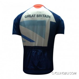 London Olympic 2012 Team Gb Cycling Short Sleeve Jersey Tj-050-5569 Outlet