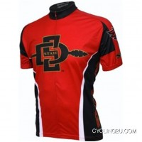 Outlet San Diego State University Aztecs Cycling Jersey TJ-309-4230