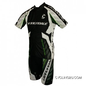 Top Deals 2013 CANNONDALE FACTORY RACING Cycle Jersey + Shorts Kit TJ-677-7256