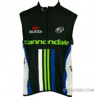 Copuon Cannondale Pro Cycling 2013 Black Edition Sleeveless Jersey Vest Tj-024-4528