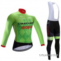 Online 2017-2018 Cannondale Drapac Fleece Winter Cycling Jersey And Bib Pants Roupas De Ciclismo Tj-195-7393