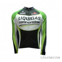 New Release Liquigas Cannondale 2012 Black Edition Long Sleeve Jersey