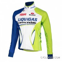 Best Liquigas-Cannondale Long Sleeve Jersey 2012