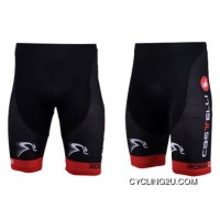 Latest 2012 Castelli Black Red Cycling Shorts Tj-680-9690