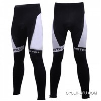 Free Shipping CASTELLI WHITE Cycling Tights TJ-022-7945