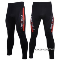 Castelli Black Cycling Tights Tj-200-1005 New Release