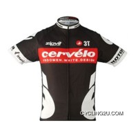 Super Deals 2010 Cervelo Red Short Sleeve Jersey Tj-223-7311