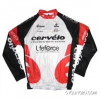 2009 CERVELO RED Long Sleeve Jersey TJ-220-9934 Discount